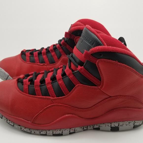 super popular a14f5 98d2a AIR JORDAN 10 Retro Basketball Shoes Men's Size 10
